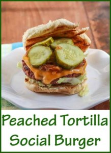 Social Burger from Peached Tortilla Cookbook