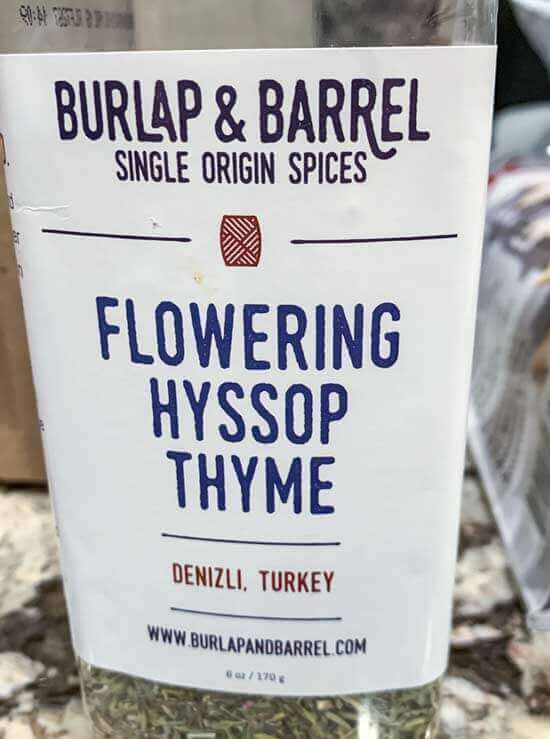 Burlap and Barrel Thyme
