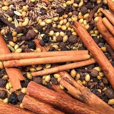 Toasting whole spices