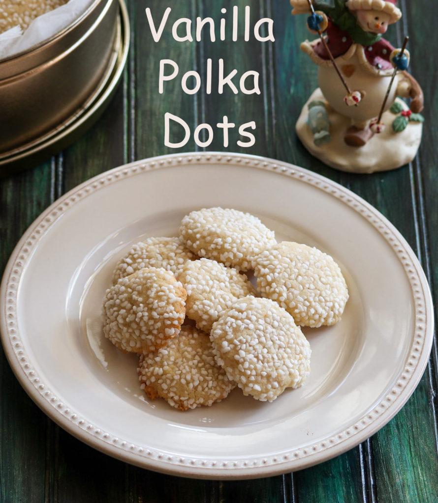 Vanilla Polka Dots