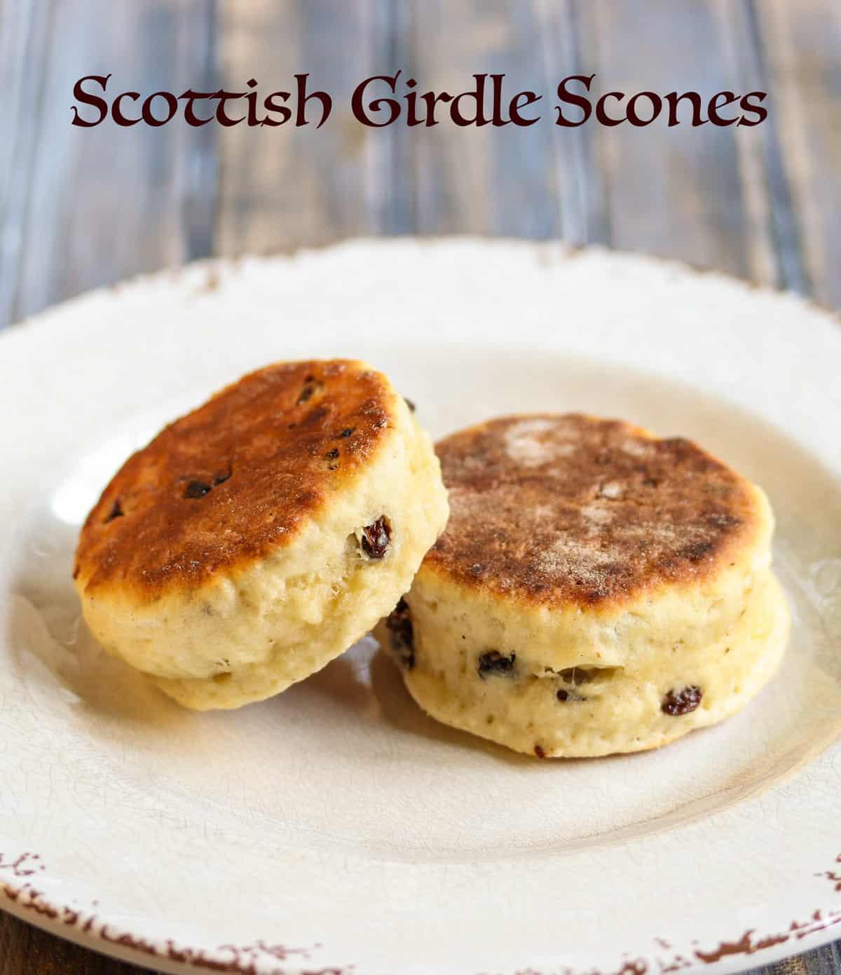 Scottish Girdle Scones