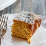 Glazed Meyer Lemon Poppy Seed Snacking Cake